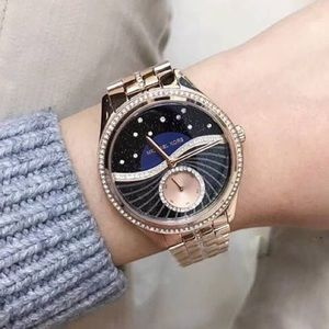 afe140e72c49 Michael Kors Accessories - Michael Kors Lauryn Celestial Pave Rose Gold  Watch